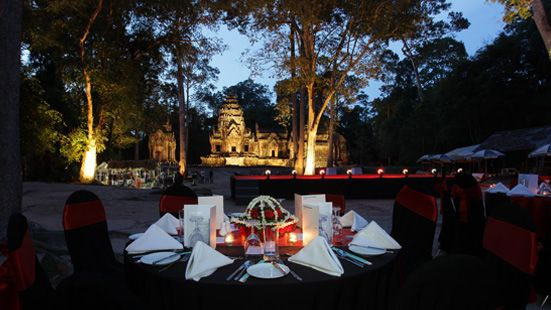 Temple Dinner at Angkor Complex